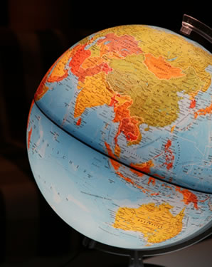 Image of Accountants for small businesses Nottingham- world globe icon