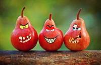 Image of angry pears